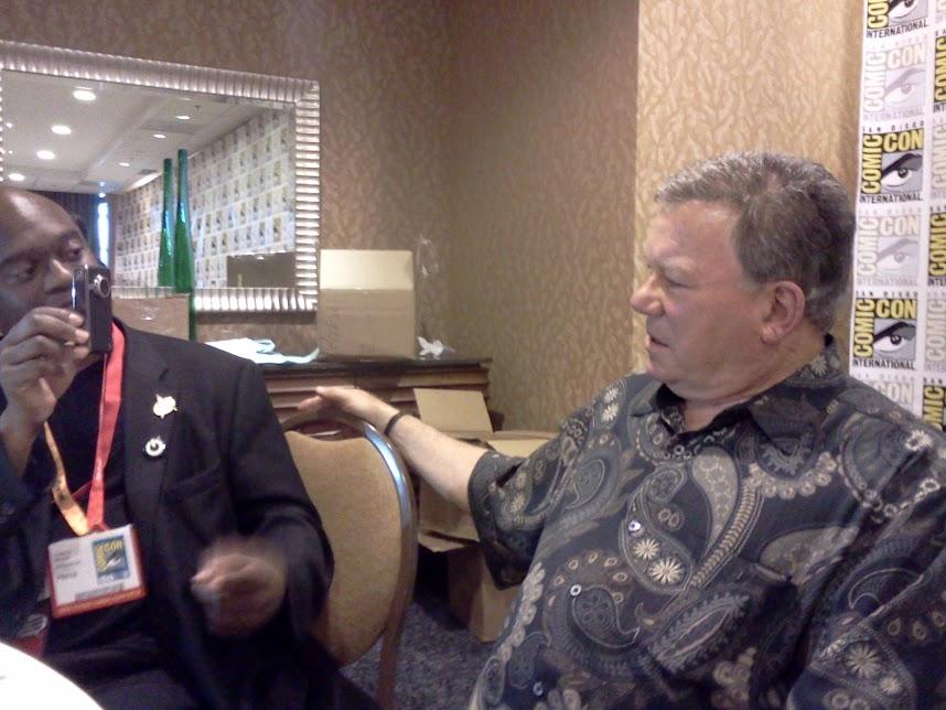 Shatner at ComicCon