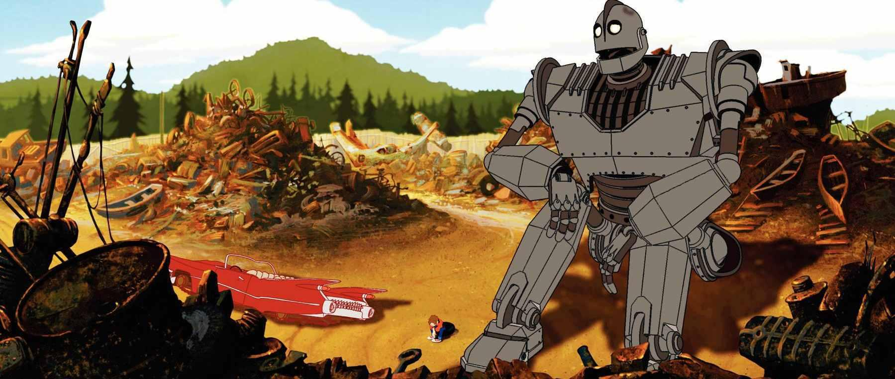 Lost In The Movie Wilderness Quot The Iron Giant Quot To The