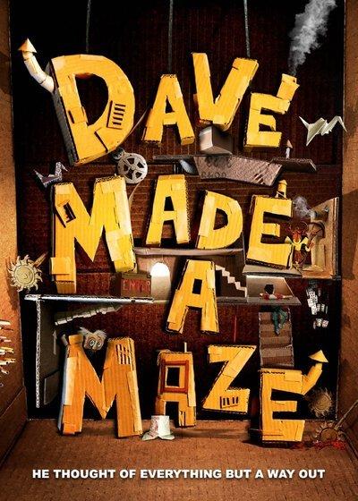 Dave Made a Maze Movie Poster