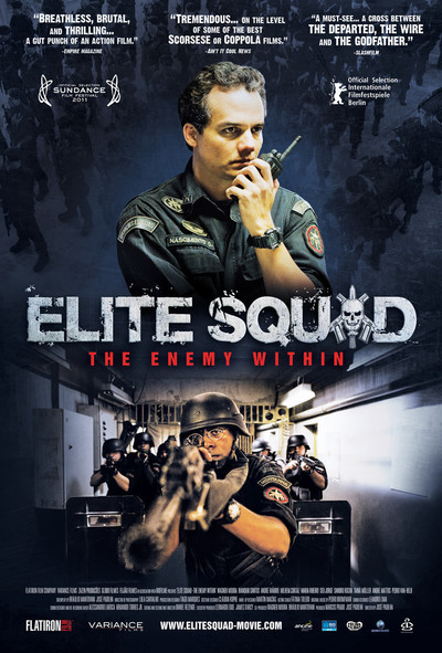 Elite Squad: The Enemy Within Movie Poster