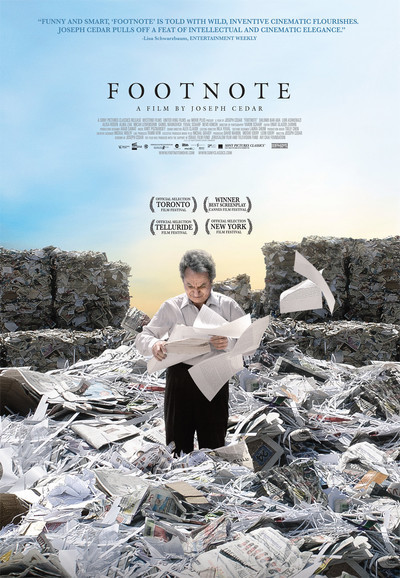 Footnote Movie Poster