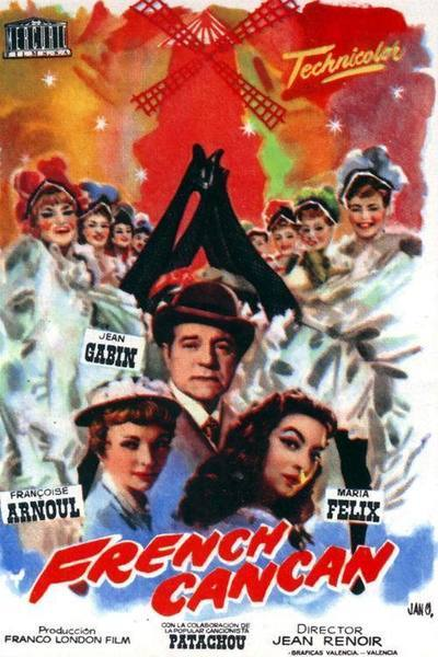 French Cancan Movie Poster