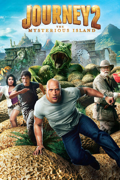 Journey 2: Mysterious Island Movie Poster