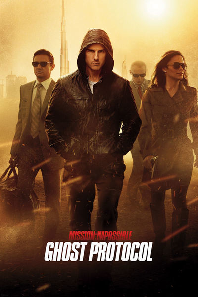 Mission: Impossible -- Ghost Protocol Movie Poster