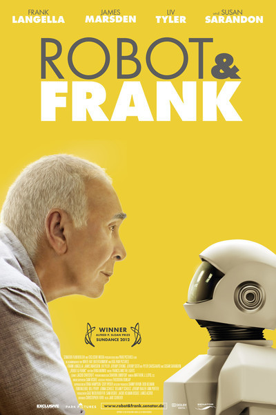 Robot &amp; Frank Movie Poster