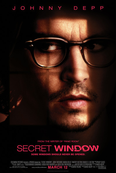 Secret Window Movie Poster