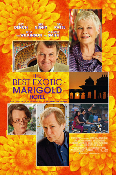 The Best Exotic Marigold Hotel Movie Poster