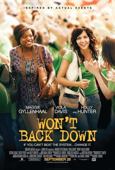 Won&#x27;t Back Down Movie Poster