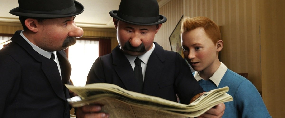 The Adventures of Tintin Movie Review