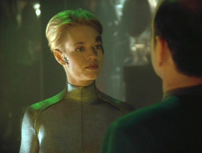 Jeri ryan nude star trek scene