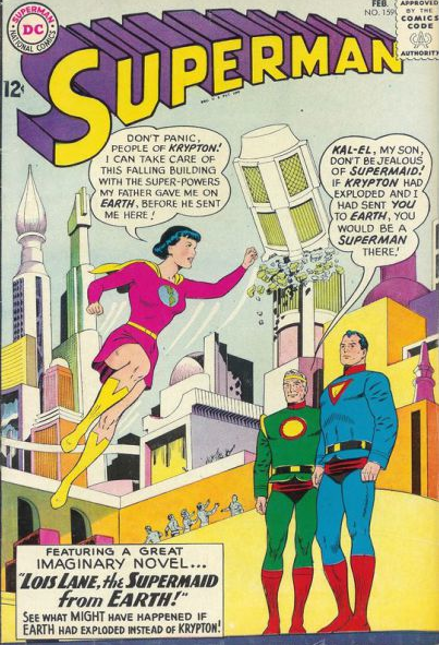Superman Times 10 The Most Amazing Incarnations Of Comics Most