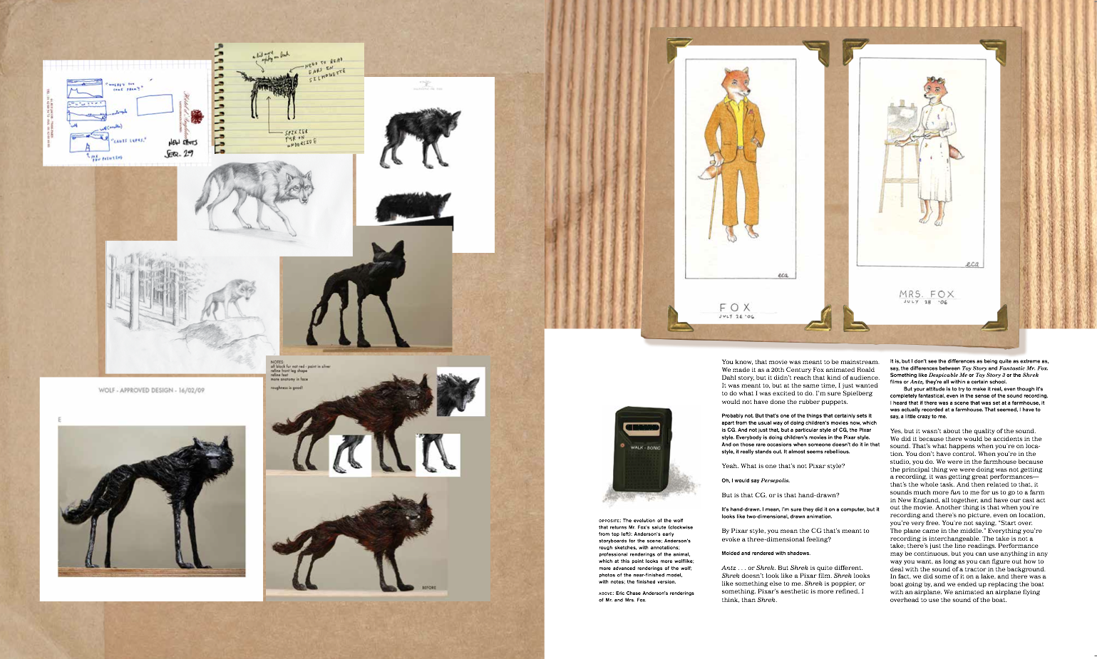 The Wes Anderson Collection Chapter 6 Fantastic Mr Fox Mzs Roger Ebert