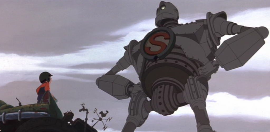Lost In The Movie Wilderness The Iron Giant To The Rescue