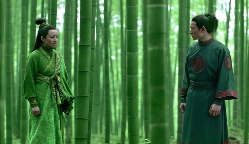 On the Distinct Humanism of Zhang Yimou's Monochrome Shadow
