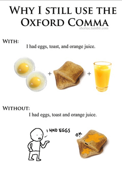 let u0026 39 s hear it for the oxford comma