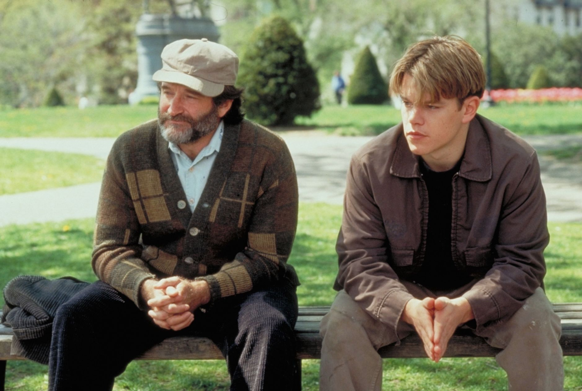 It S Not Your Fault On Hanging Out And Healing In Good Will Hunting Features Roger Ebert