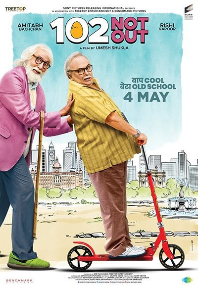 102 Not Out (2018) Hindi HDRip AAC 700MB ESubs MKV