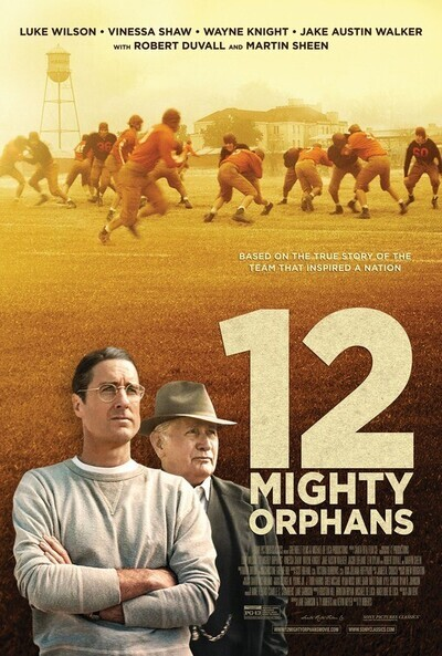 12 Mighty Orphans movie poster