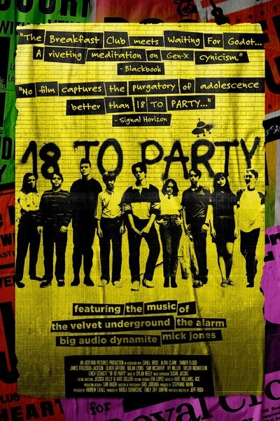 18 to Party movie poster