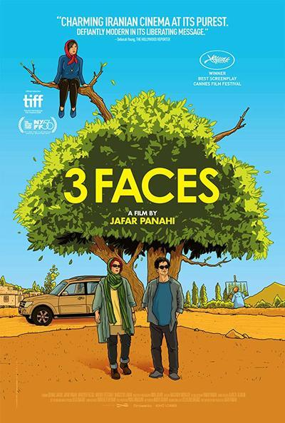 3 Faces Movie Poster