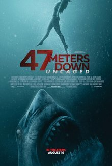 Widget 47 meters down uncaged movie review poster 1