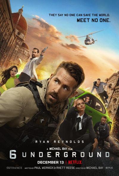 6 Underground movie poster