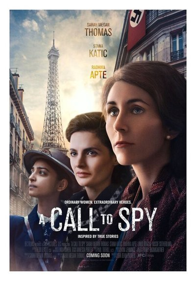 A Call to Spy movie poster