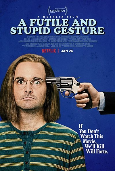 A Futile & Stupid Gesture movie poster