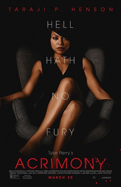 Acrimony movie poster