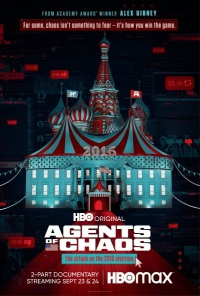 Agents of Chaos movie poster