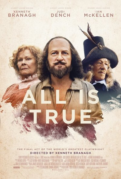 All Is True movie poster