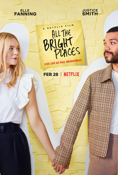 All the Bright Places movie poster