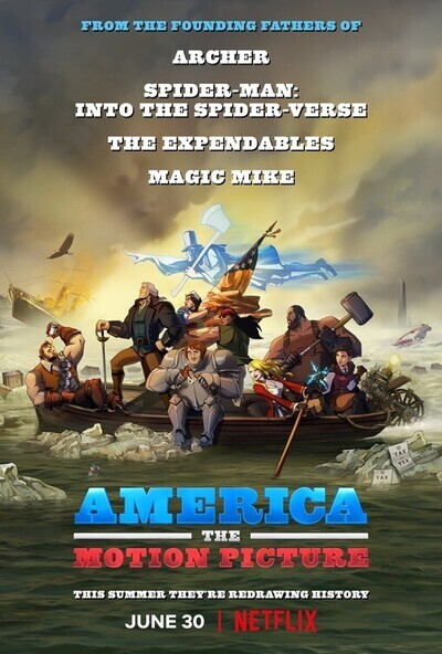 America: The Motion Picture movie poster