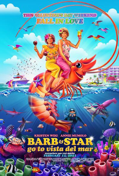 芭比和明星去维斯塔德尔马电影海报