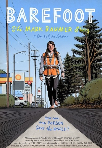 Barefoot: The Mark Baumer Story movie poster