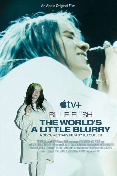 Billie Eilish: The World's a Little Blurry movie poster