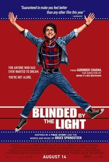 Widget blinded by the light movie review poster 1