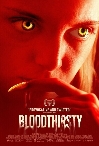 Bloodthirsty movie poster