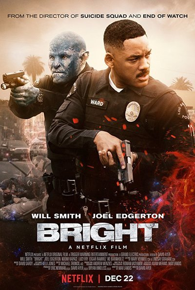 Bright movie poster