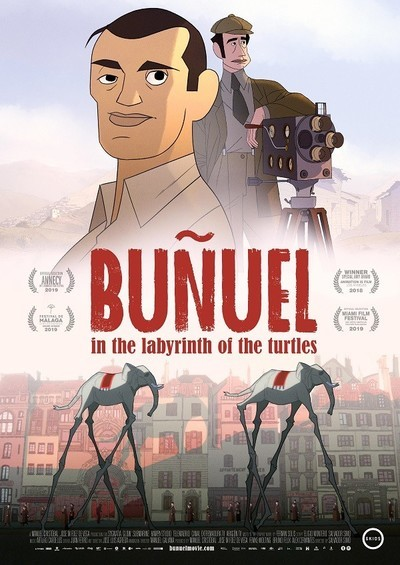 Buñuel in the Labyrinth of the Turtles movie poster
