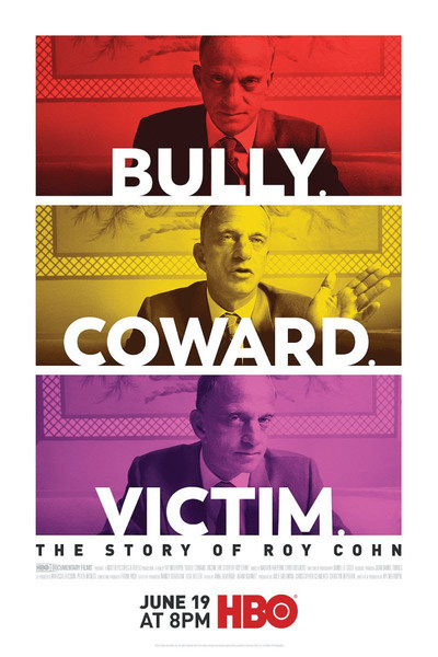 Bully. Coward. Victim. The Story of Roy Cohn movie poster