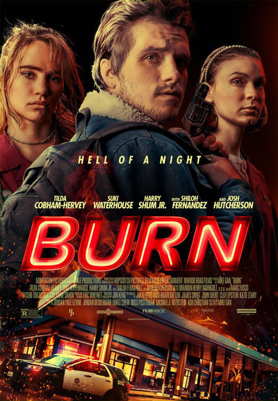 Burn movie poster