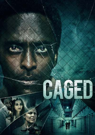 Caged movie poster
