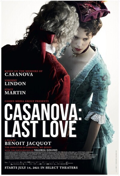 Casanova, Last Love movie poster