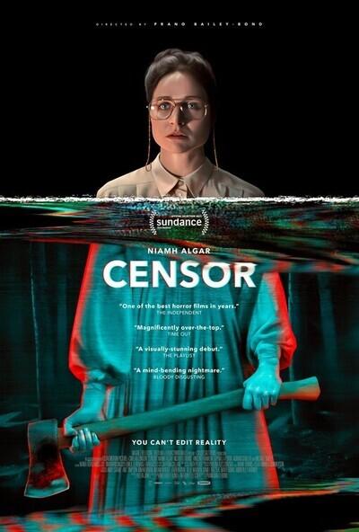 Censor movie poster