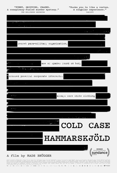 Cold Case Hammarskjöld movie poster