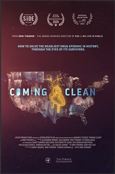 Coming Clean movie poster