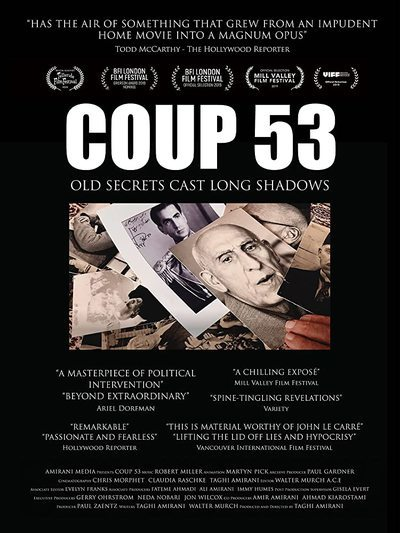 Coup 53 movie poster