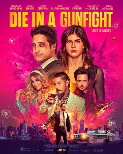 Die in a Gunfight movie poster