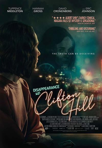 Disappearance at Clifton Hill movie poster